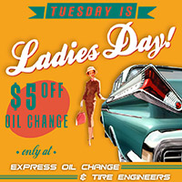 ladies day offer